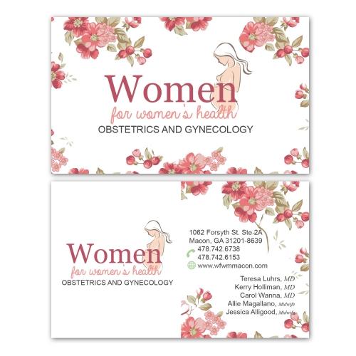 OB GYN Sample Business Card