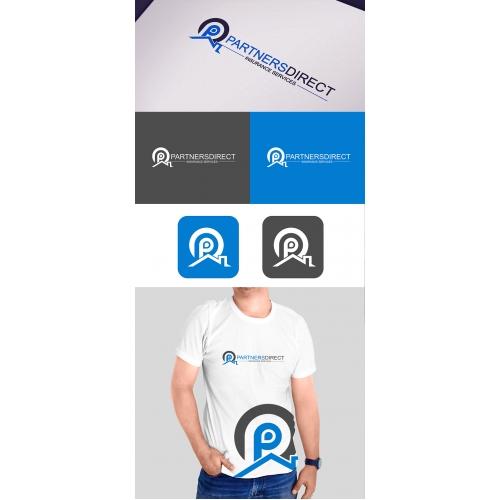 Logo with tshirt design
